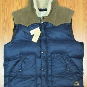 NEW! DENIM & SUPPLY RALPH LAUREN DOWN PUFFER VEST